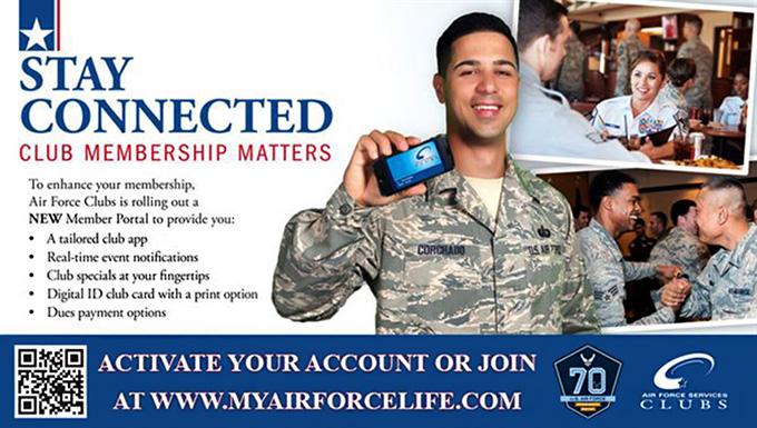 Air Force Club upgrade