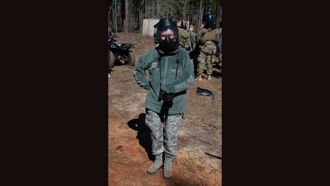 Augmentees pump up Security Forces' power - Mission