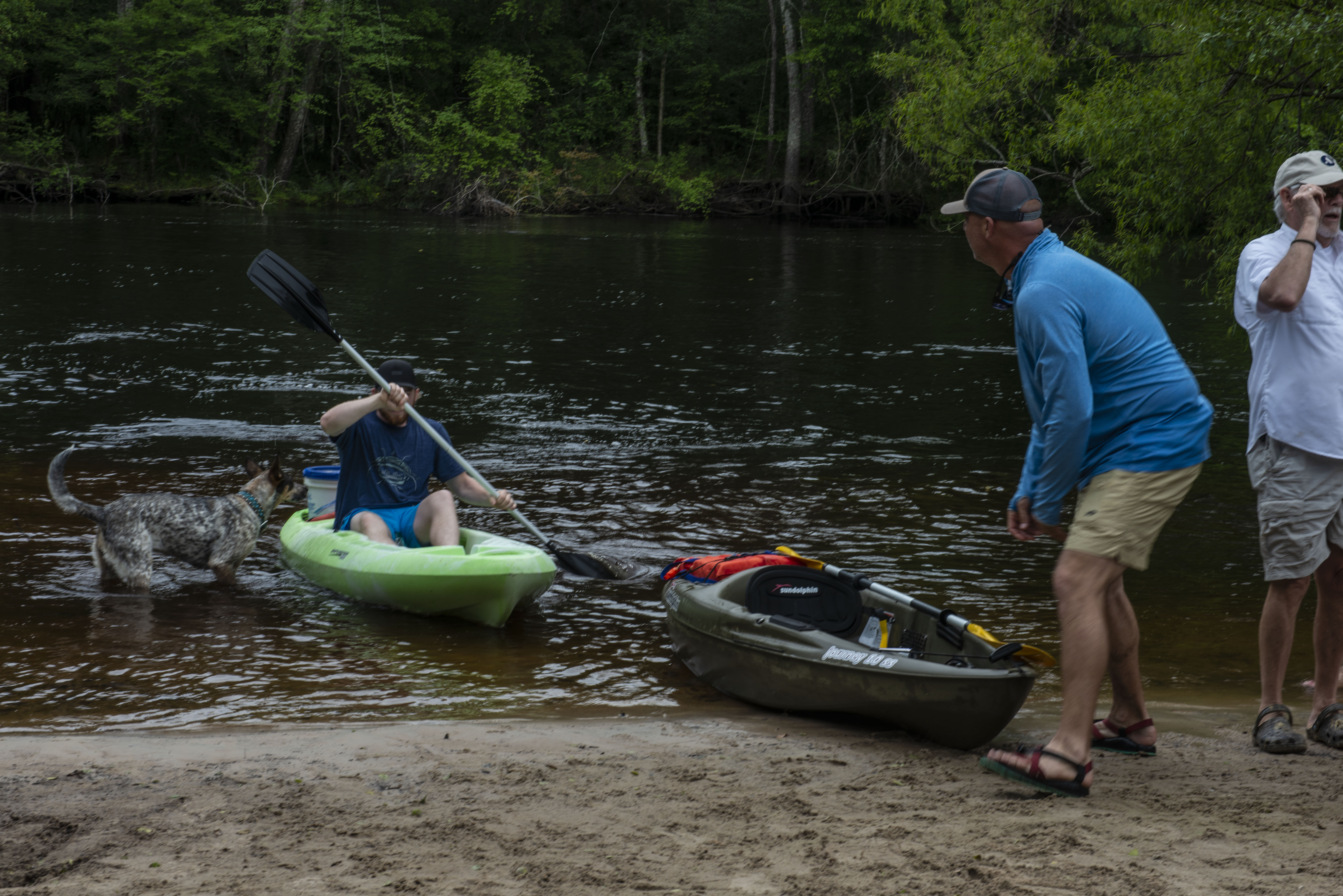 Back on track with your kayak