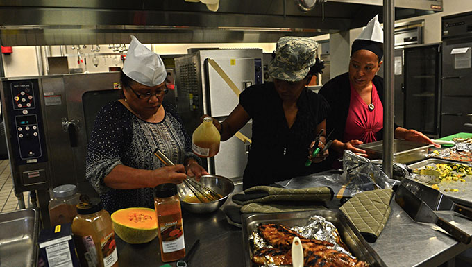 Iron Chef Competition tests participants' mettle