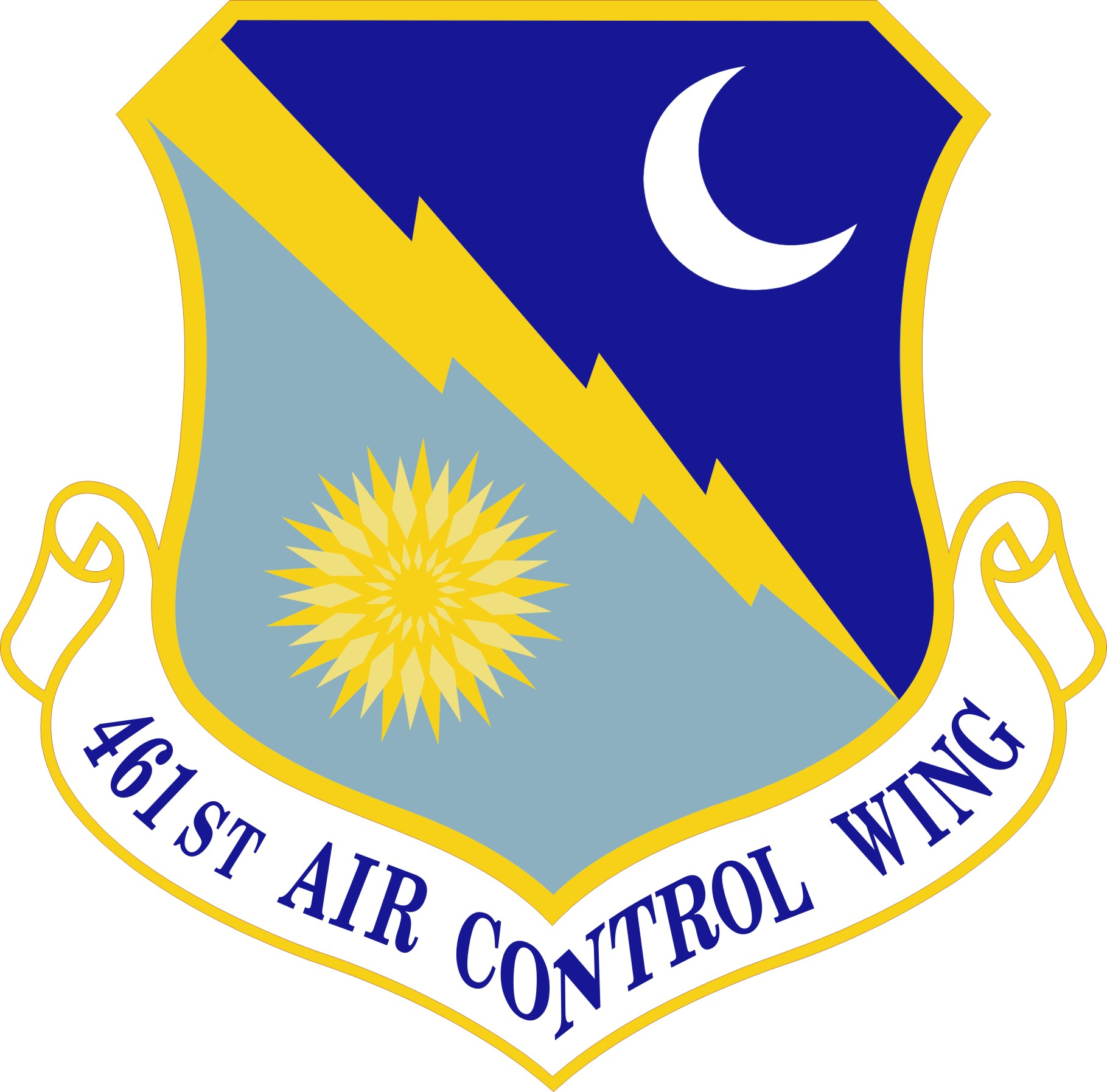 461st Air Control Wing shield