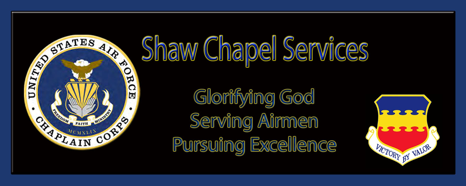 Shaw Air Force Base Chapel Services