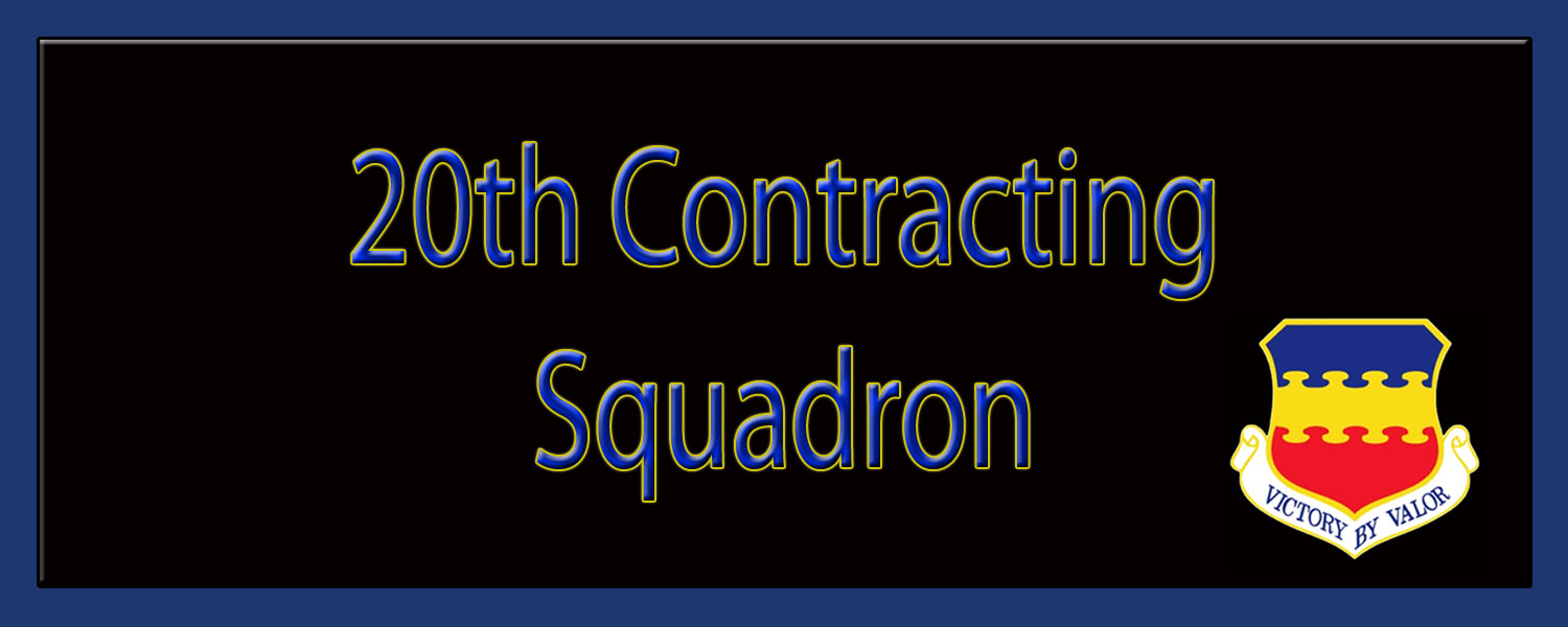 20th Contracting Squadron