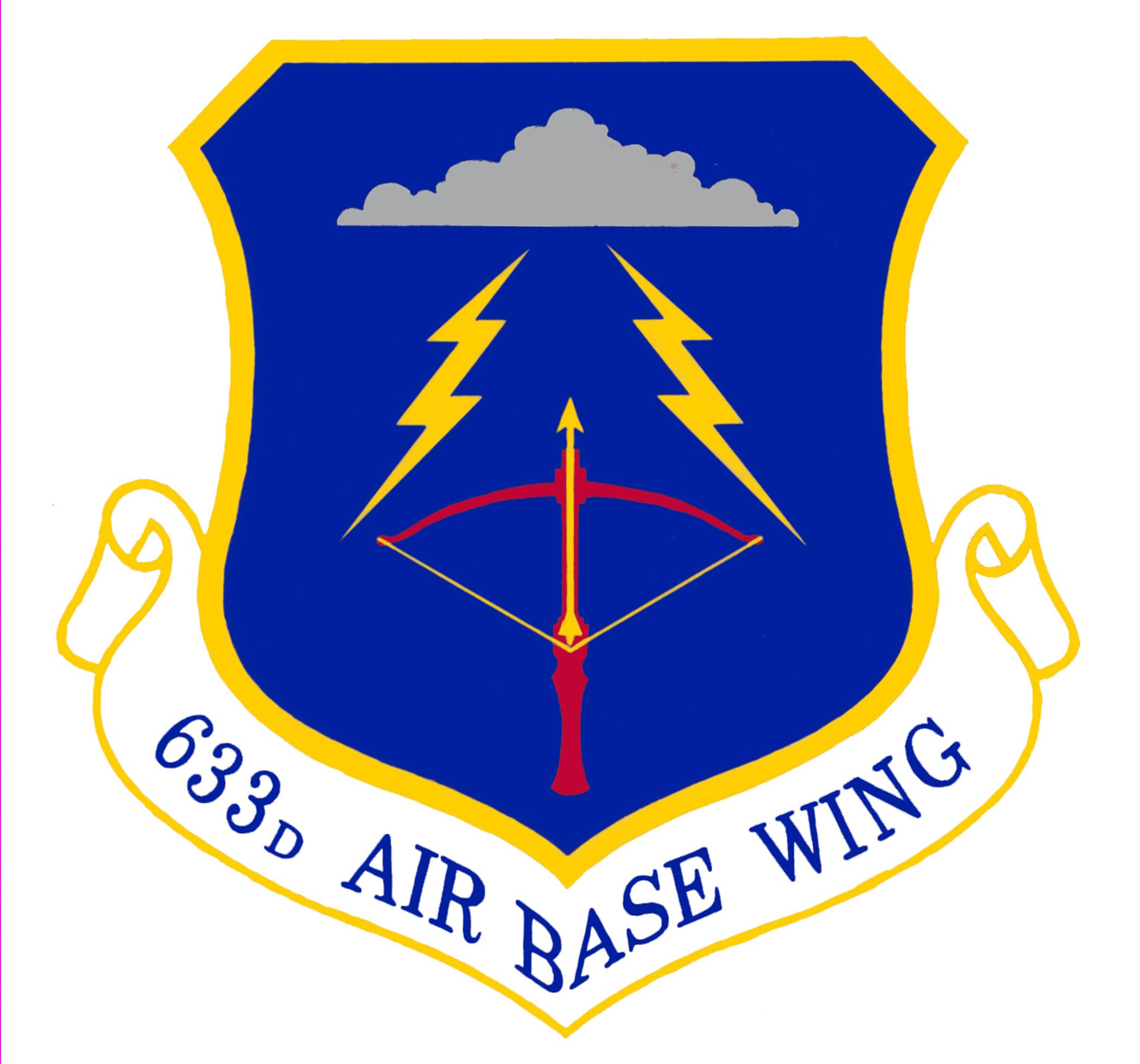633rd Air Base Wing shield