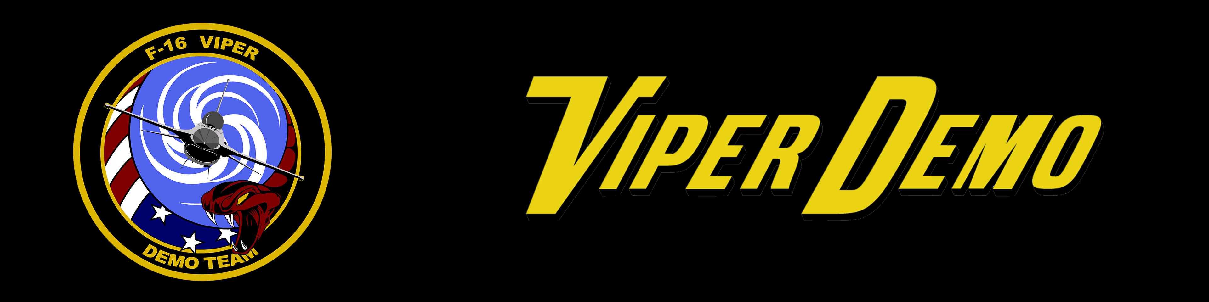 A graphic of the Viper Demo team logo.