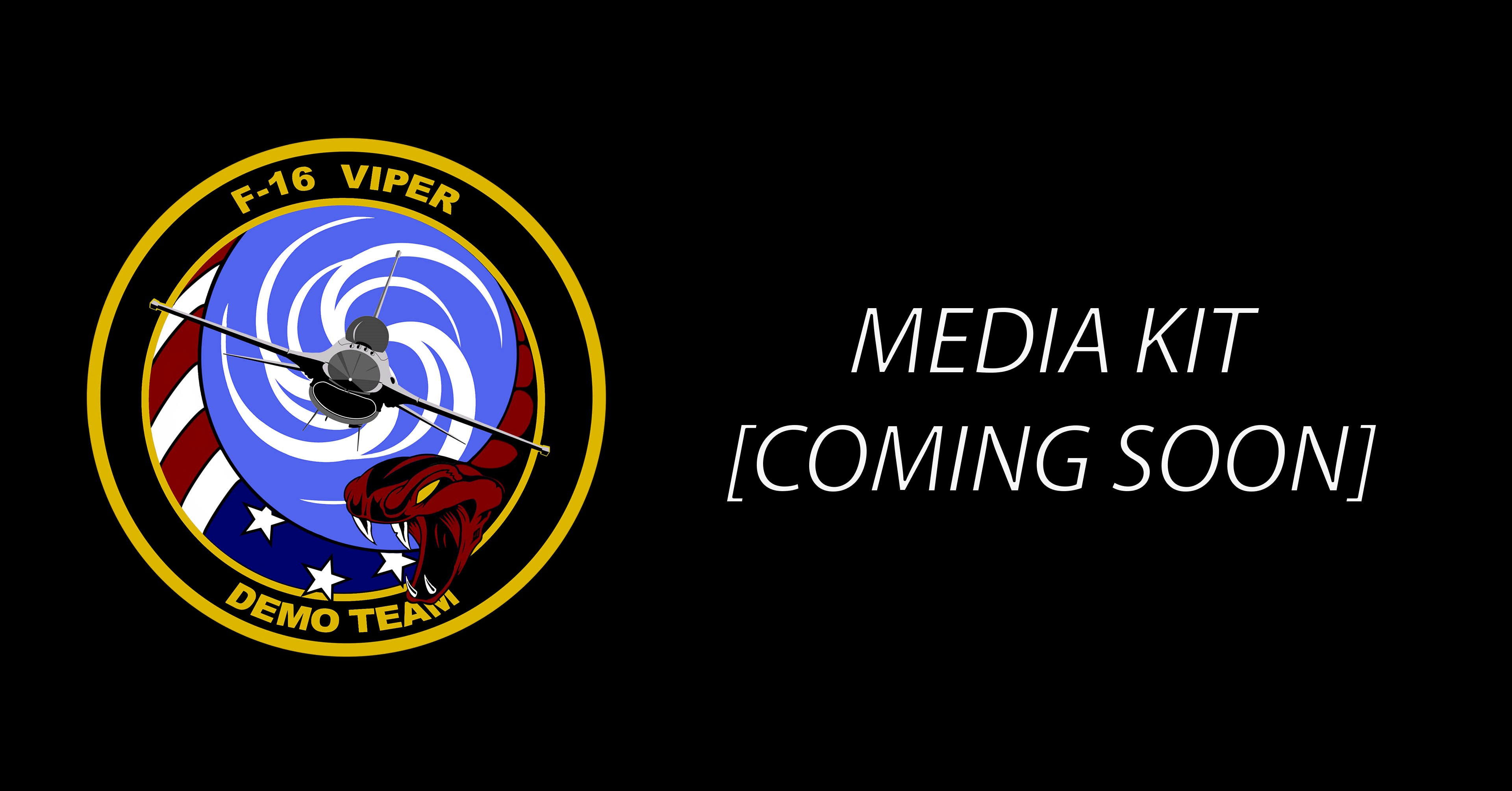 image of viper demo team patch, link to media kit.